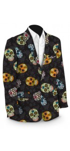 Sugar Skulls StretchTech Men's Sport Coat MTO