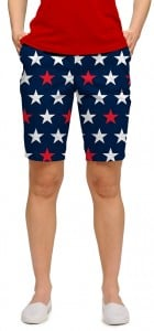 Superstar Navy StretchTech Women's Bermuda Short MTO