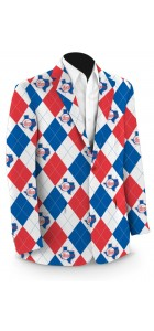 Rangers '84 Argyle StretchTech Men's Sport Coat MTO