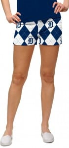 Detroit Tigers Argyle Women's Mini Short MTO