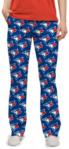 Blue Jays Solid Women's Capri/Pant MTO