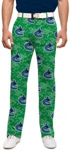 Vancouver Johnny Canuck Green StretchTech Men's Pant MTO