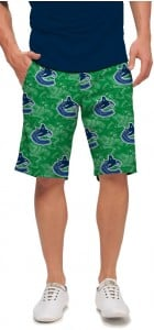 Vancouver Johnny Canuck Green StretchTech Men's Short MTO