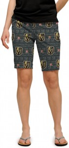 Vegas Golden Knights StretchTech Women's Bermuda Short MTO