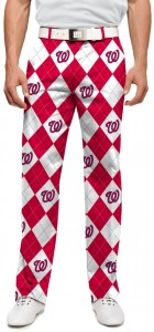 Nationals Argyle StretchTech Men's Pant MTO