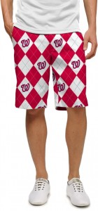 Nationals Argyle StretchTech Men's Short MTO