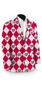 Nationals Argyle StretchTech Men's Sport Coat MTO