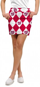 Nationals Argyle StretchTech Women's Skort/Skirt MTO