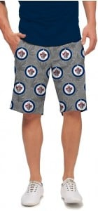 Winnipeg Jets Silver StretchTech Men's Short