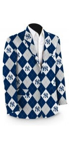 Yankees Pinstripe Navy Men's Sport Coat MTO