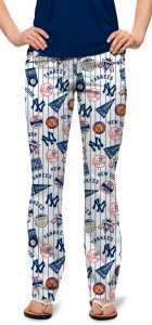 Yankees Retro Women's Capri/Pant MTO